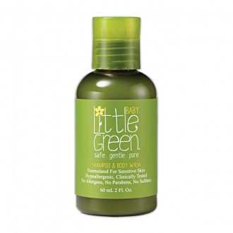 Little Green Baby Shampoo & Body Wash -60ml