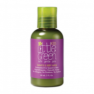Little Green Kids Shampoo & Body Wash -60ml